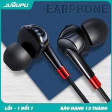 Tai nghe JUYUPU M3 nhét tai jack 3.5mm chống ồn chính hãng cho iPhone  Samsung OPPO VIVO HUAWEI XIAOMI tai nghe có dây