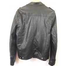 leather zipped jackets emporio fashion size 52 xl fr