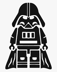 Anakin Skywalker Lego Star Wars Silhouette Boba Fett - Father's Day Darth  Vader, HD Png Download - kindpng