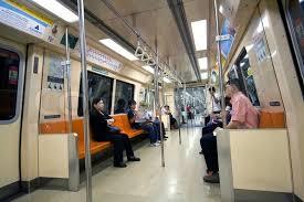 inside subway train. Beautiful Inside People Inside A Clean Subway Train In Singapore  Stock Photo Colourbox On Inside Subway Train R