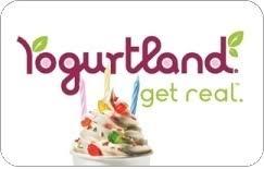 flash 25 off yogurtland gift cards at giftcardspread