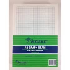 5mm Graph Paper Writer Ream Graph Paper 5mm Portrait A4 500 Sheets Office