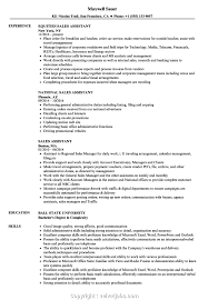 Top Retail Assistant Resume Sample Sales Assistant Resume Samples