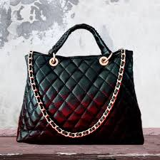 chanel inspired bags. black leather quilted chanel style tote inspired bags e