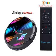 Tv Box Android 96 Max X3 4gb 128gb 8k Amlogic S905X3 X 9.0 Dual Wifi 1080p  4k Youtube X9 X6 X9 X95X