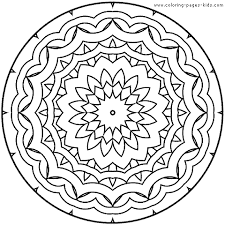 Printable Easter Coloring Pages Printing Free Mandala Coloring Pages