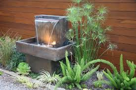 Small Picture Small Backyard Fountain Ideas Backyard Landscape Design