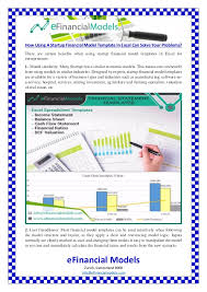 Financial Model Excel Spreadsheet How Using A Startup Financial Model Template In Excel Can