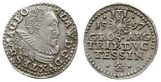 NumisBids: Warszawskie Centrum Numizmatyczne Auction 64-65, Lot 794 :  Silesia / Schlesien - Herzogtum Teschen - Adam Wenzel 1594-1617;...