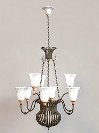vintage chandelier 3d model