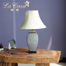 tuda 40x65cm free wisteria hand painted ceramic table lamp american country style table lamps