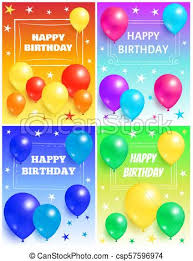 Free Birthday Backgrounds Happy Birthday Background Glossy Balloons And Star