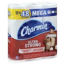 charmin bathroom tissue. Charmin Bathroom Tissue, Ultra Strong, Mega Rolls, 2-Ply Tissue
