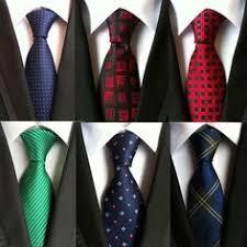 New <b>Classic 8cm Floral</b> Blue Yellow Black Red Silk Ties Mens ...