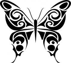 Simira Motýl Tatoo Adelenka