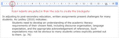 referencing apa example of a blockquote using harvard intext referencing