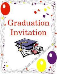Free Printable Graduation Cards Free Printable Graduation Invitation
