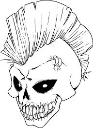 Small Picture Free Printable Skull Coloring Pages For Kids