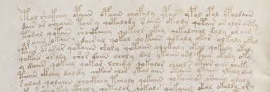 writing analysis voynich ms text analysis the writing system