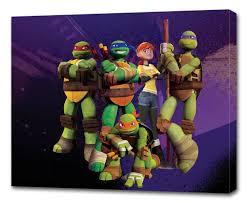 pictures of turtles to print. Fine Print TMNTNinjaTurtlesCANVASPRINTWallDecorArt On Pictures Of Turtles To Print T