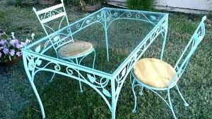 Antique metal outdoor furniture Metal Colorful Wrought Kosnica Antique Wrought Iron Patio Furniture Value Cast Garden Prices