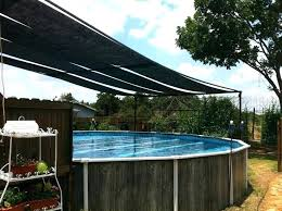 above ground pool canopy shade supreme dome screen enclosure for round privacy around picture of swimming