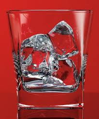love this square drinking glass set of four