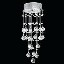teardrop crystal chandelier mini