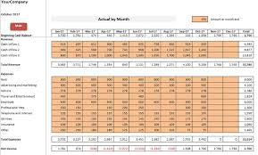 Entry 6 By Jnmalau For Company Budget Planning Monthly Actuals Vs