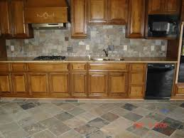 Stone Kitchen Floor Tiles Kitchen Floor Tile On Island With End Table Black Island Table