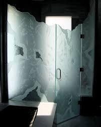 frosted glass shower enclosure. Decorative Glass Shower Doors Designs For A Bathroom Frosted Enclosure