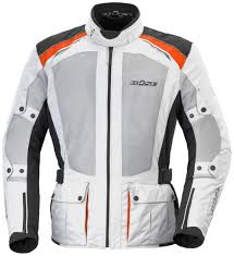 büse arco summer textile jacket white orange black jackets kurtka buse touring team premier fashion designer