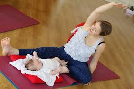 during the cl there is no pressure for you or baby to do anything that s unfortable and there s no need to have any yoga experience either