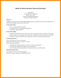 medical administration resume health care administration resume health administration resume