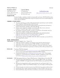 Resume Template With Current And Permanent Address