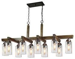 home glow 10 light chandeliers distressed pine