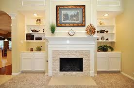 Amazing Brick Fireplace Facade