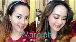 wardah one brand tutorial tips