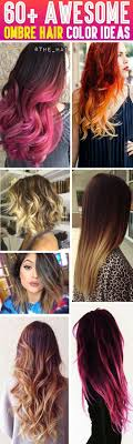 60 Awesome Diy Ombre Hair Color