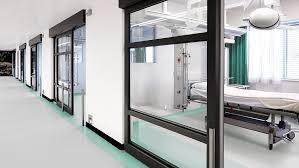 vinyl flooring for hospital healthcare facility
