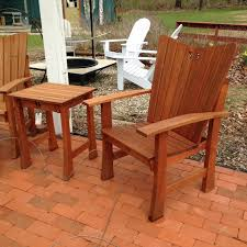Hand Crafted Mahogany Indoor Outdoor Barcelona Chair By Kevin Outdoor Mahogany Furniture