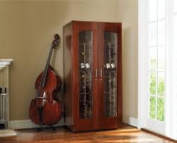 image wine cabinet in a home
