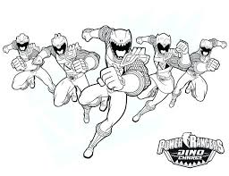 free power ranger coloring pages colouring printable rangers