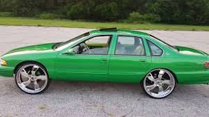 1996 Chevy Impala SS Candy Green on 26