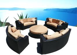 round sectional patio furniture round outdoor furniture attractive 2 random 2 round sectional patio furniture outdoor
