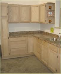 Home Depot Metal Cabinets Small Space Kitchen With Pearl Grey Wooden Unfinished Corner