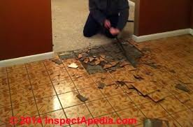 remove asbestos tiles improper remove asbestos tiles how to recognize asbestos floor