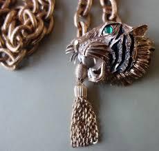 glass eye necklace belt pendant