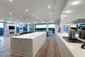 modern kitchen floors. DuChateau Floors - Marshall White Penthouse Modern-kitchen Modern Kitchen E