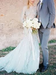 35 trendy and romantic blue wedding gowns weddingomania
